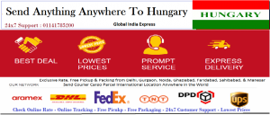 Low Cost Courier Cargo Parcel Ship To Budapest Hungary Form India