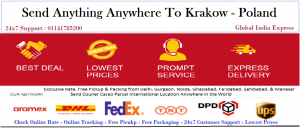 Courier-Cargo-Parcel-shipping-to-Krakow Poland gurgaon-noida-faridabad-ghaziabad-india-delhi-1024x437