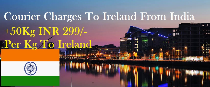 Courier Charges Waterford From Delhi