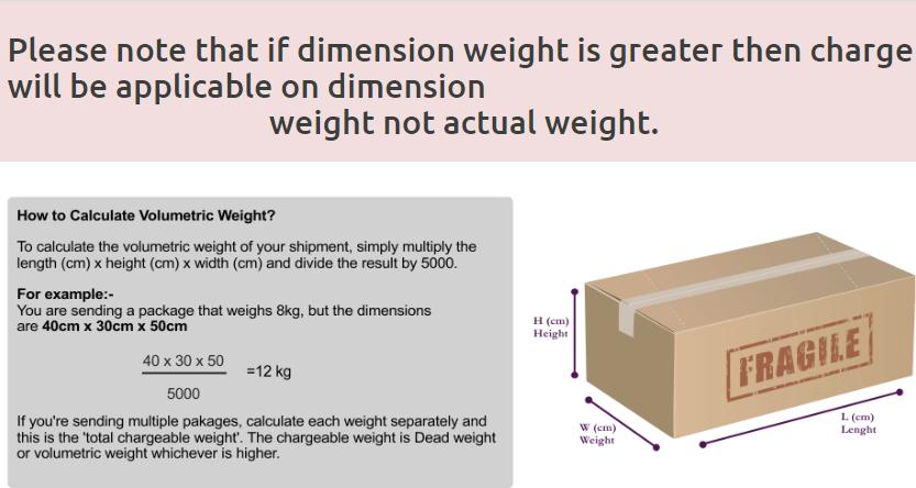 Dimension Advise