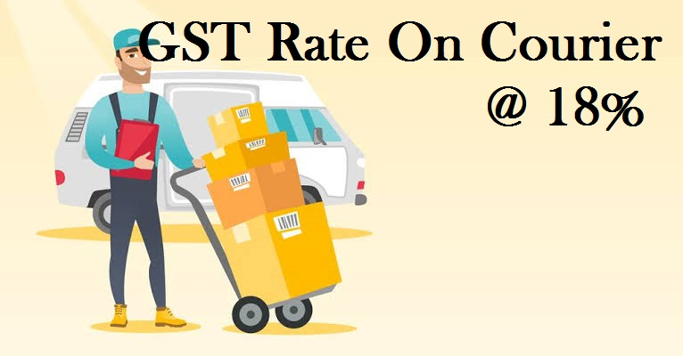 GST Rate of Courier Services