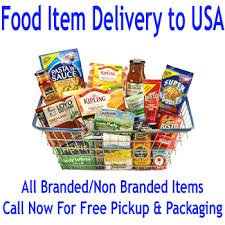 send Food Item Courier To USA