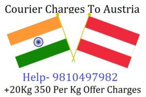 Courier Charges For Vienna From Delhi