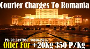 Courier Charges For Iasi From Delhi