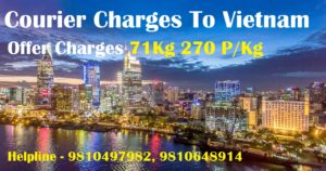 Courier Charges For Ho Chi Minh From Delhi