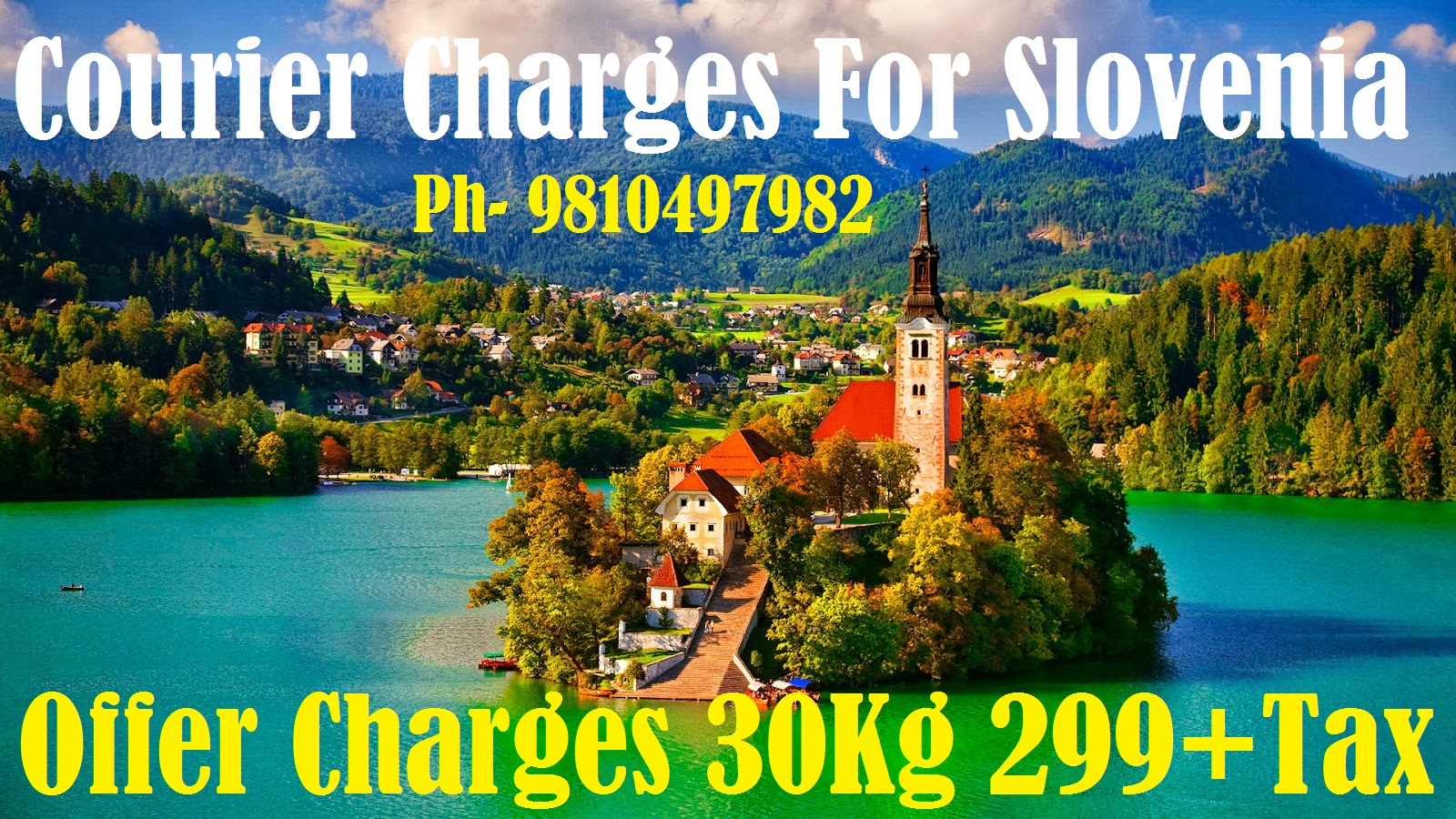 Courier Charges Slovenia From Delhi