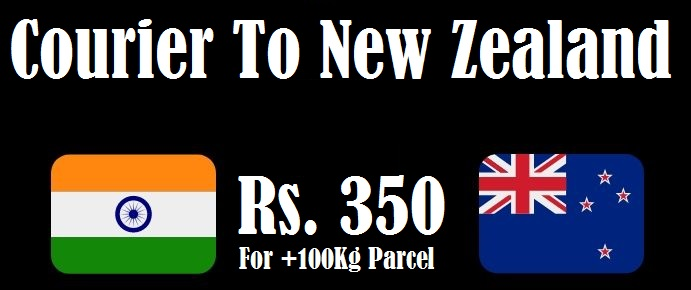 Courier Charges New Zealand From Delhi