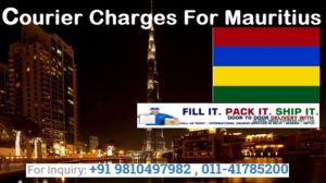 Courier Charges To Mauritius From Delhi