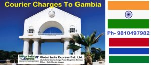 Courier Charges To Gambia From Delhi