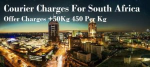 Courier Charges To Cape Town From Jaipur