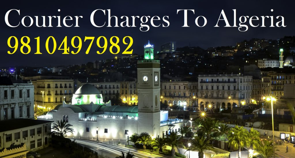 Courier Charges To Algeria From Mumbai