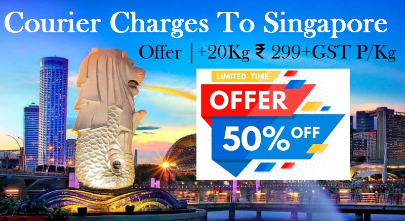 Courier Charges For Singapore From Noida
