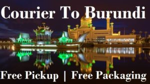 Courier Charges To Burundi From Delhi