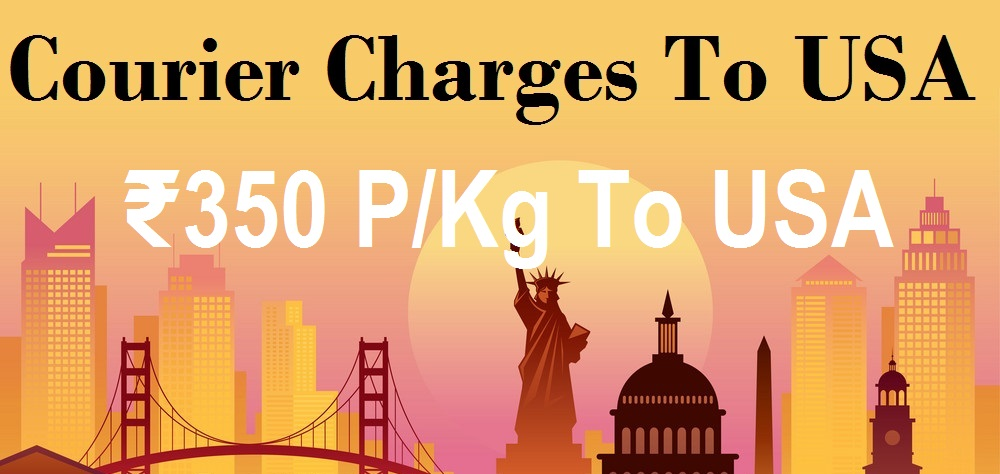 Courier Charges To USA From Jaipur