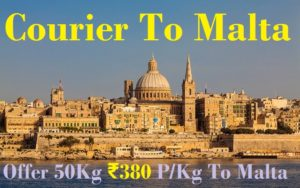 Courier Charges To Malta From Jaipur