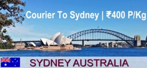 Courier Charges For Sydney From Delhi