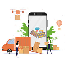 Medicin-Delivery Courier Charges For Wuhan From Jaipur